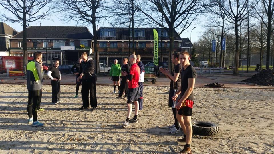 Fight Game Outdoor trainingen