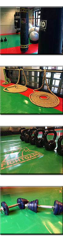 personal training - fight game academy