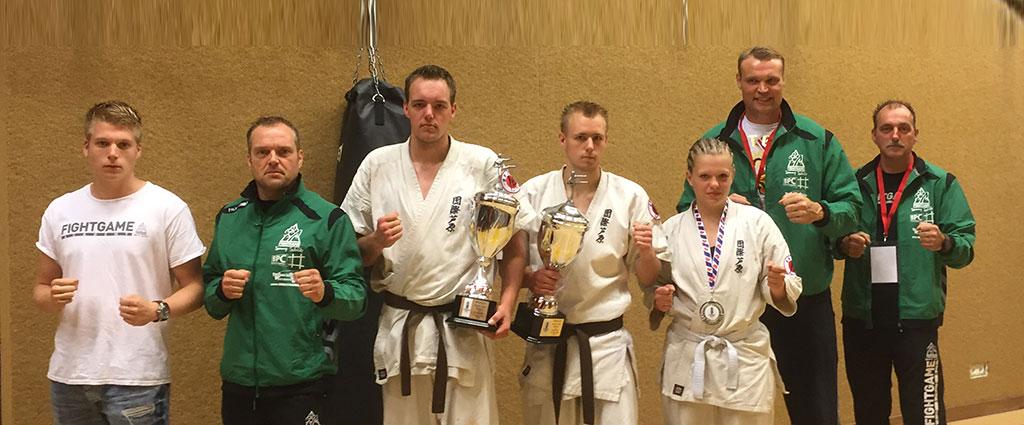 Karate wedstrijden Masters of Kyokushin