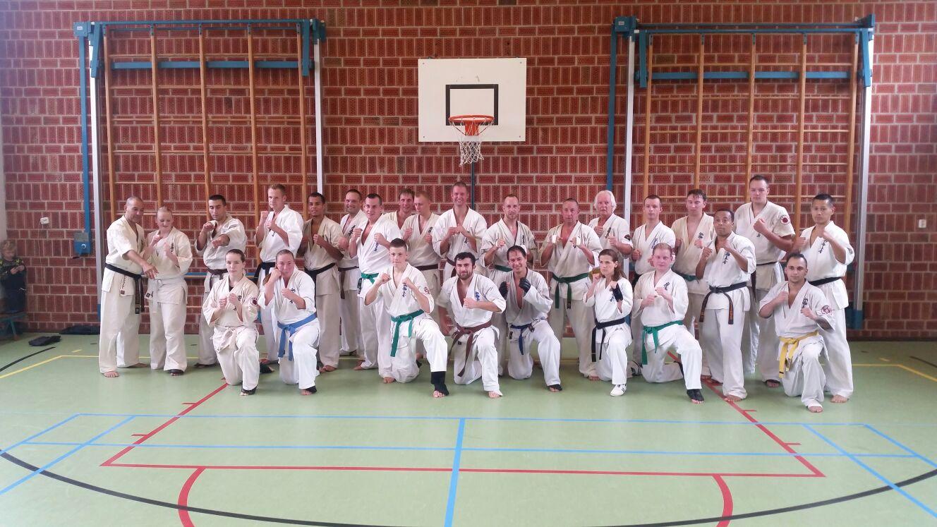 Kumite Noord wedstrijdtraining in Delfzijl