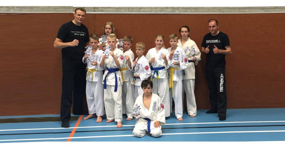 Ureterp karate website