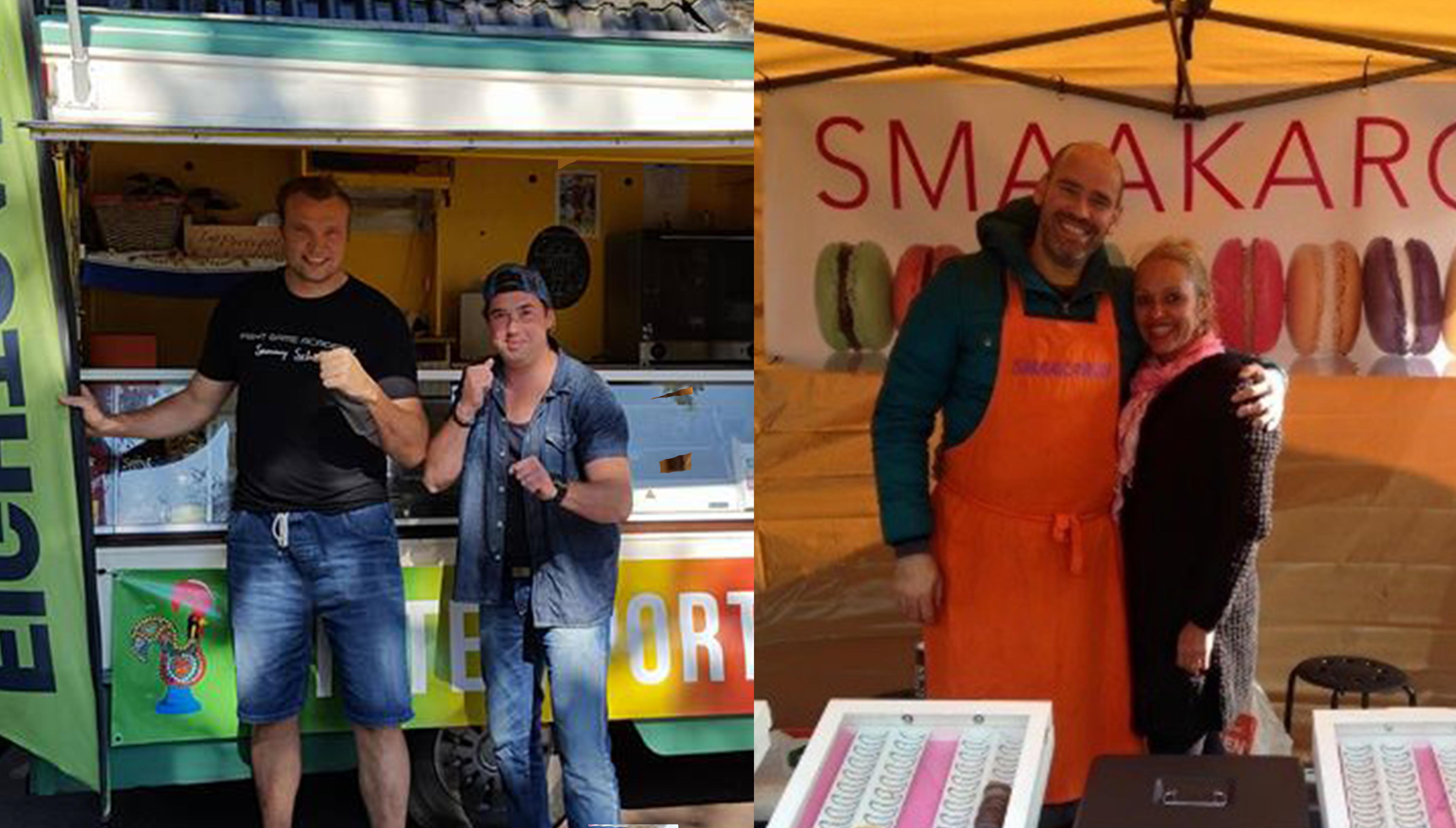 Fight Game Academy maakt culinaire uitstap tijdens Zuidlaardermarkt