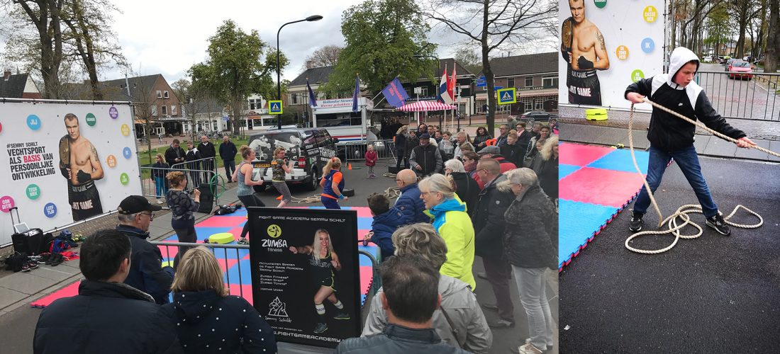 Fight Game Academy op Koningsdag Zuidlaren