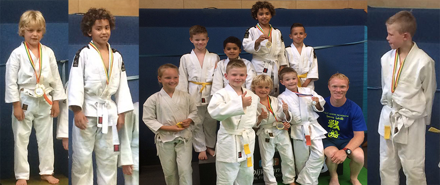 Judo wedstrijden in Groningen