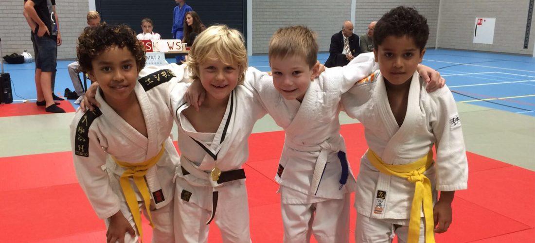 Judo wedstrijden in Middelstum