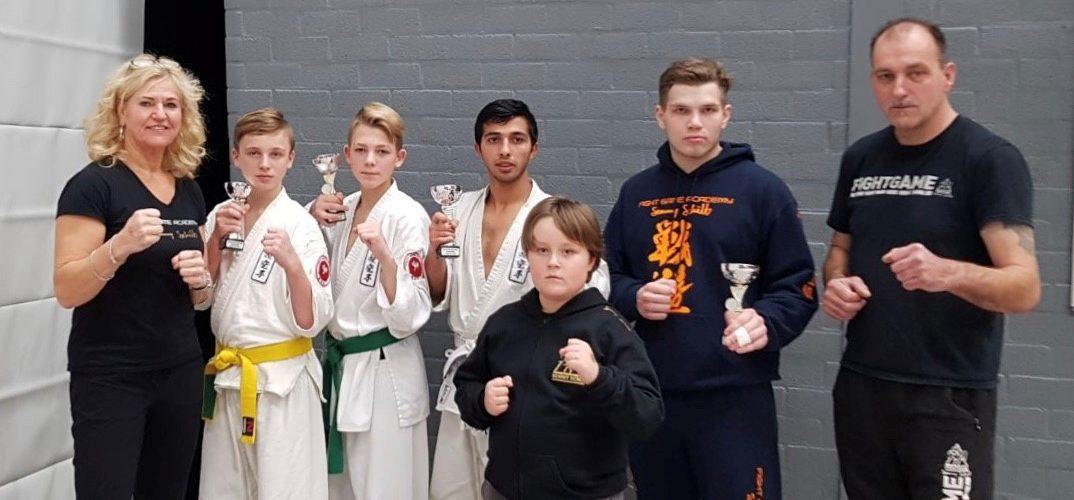 Karateka's Fight Game Academy in de prijzen