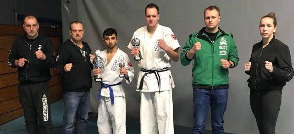 Bart Mulder Europees Kampioen Kyokushin Karate